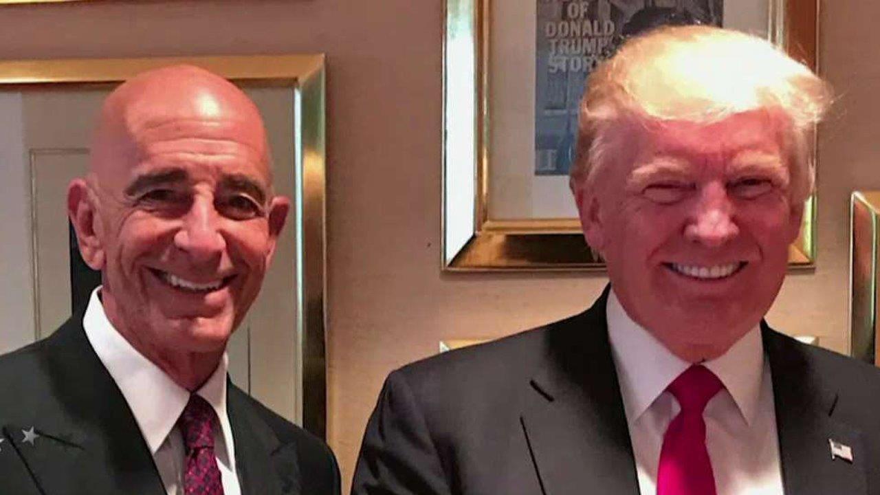 Thomas Barrack and Donald Trump